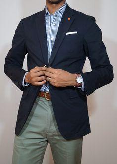 New sport oufits men pants ideas Blazer Outfits Men, Mens Fashion Blazer, Blue Blazer Outfit Men, Navy Sport Coat, Mens Sport Coat, Outfit Hombre Casual, Sports Coat And Jeans, Olive Pants Outfit, Stylish Men