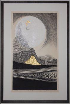 Listed Japanese Artist Reika Iwami Woodblock | eBay