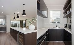 A very sophisticated kitchen. Kitchen, Table, House, Furniture, Home Decor, Cooking, Decoration Home, Home, Room Decor