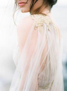 Ethereal Nature inspired wedding ideas via Magnolia Rouge