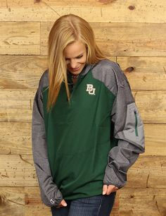 Gear up for the cold and windy weather with this Baylor Bear jacket