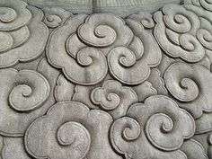 chinese clouds- this is actually a quilt but I can see it turning into a Zen pattern for the near future ;)