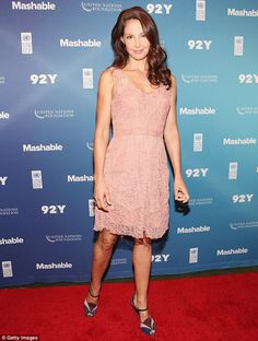 Flirty in pink: The actress looks half her age during her recent red carpet appearances