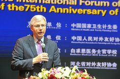 The Canadian Ambassador to China, Mr. Guy St. Jacques, addressed the assembly.