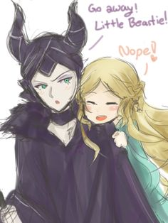 Maleficent x Aurora