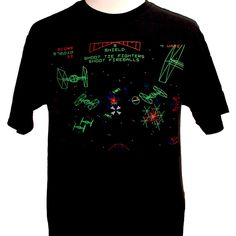 Star Wars Arcade Tee......Drool!!!  If I could only get the quarters back that I dumped into this game. hahaha