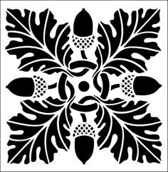 "Tile No 13 stencil from The Stencil Library ARTS AND CRAFTS range. Stencil code DE100. This stencil is used to produce a simulated tile effect. 6 x 6"" (152 x 152mm). £21.45."
