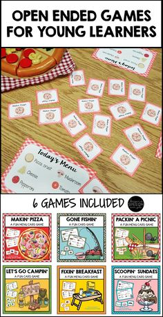 These super fun card games are perfect to use in your preschool or kindergarten classroom. They are also appropriate for special education and speech therapy, for students who are working on developing vocabulary, matching or general game play. They can also be used for reinforcement during therapy sessions when doing drill work. Suggestions for various game play ideas are provided.