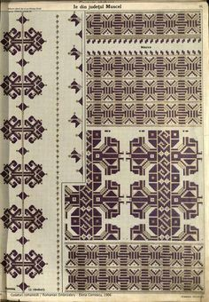 Folk Embroidery, Embroidery Patterns, Cross Stitch Patterns, Blackwork, Palestinian Embroidery, Pattern Books, Textile Patterns, Bohemian Rug, Costume