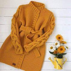 knitting sweaters for kids Gilet Crochet, Crochet Coat, Knitted Coat, Crochet Clothes, Knit Cardigan Pattern, Sweater Knitting Patterns, Crochet Cardigan, Knitting For Kids, Diy Crafts Knitting