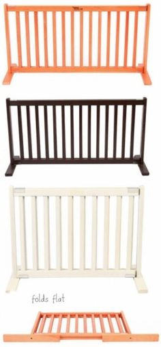 Gates For Pets-Indoor Retractable, Pet Sitter Gates, Extra Tall, Extra Wide… Diy Dog Gate, Pet Gate, Puppy Gates, Dog Gates, Dog Pen Outdoor, Outdoor Gates, Dog Barrier, Baby Gates, Wood Dog
