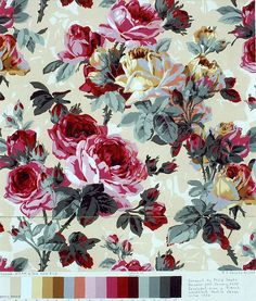 Fabric design for Westminster by philip jacobs, via Flickr
