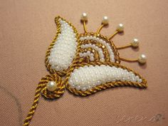 goldwork with beads