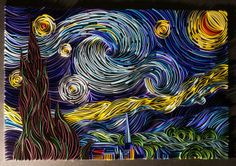 The Starry Night By Sanqman