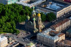 Saint Petersburg, Russia from above, photo 21