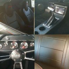 67 chevelle custom interior dash console camaro bucket seats carbon fiber dash and seats