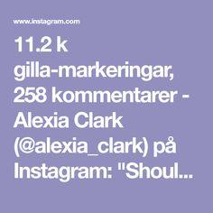 "11.2 k gilla-markeringar, 258 kommentarer - Alexia Clark (@alexia_clark) på Instagram: ""Shoulder Boulder Workout!! 1. 15 reps each side 2. 8 reps each way 3. 15 reps 4. 10 reps each…"""