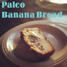 Paleo Recipe: Chocolate Chip Banana Bread