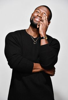 Trevante Rhodes photographed for The Washington Post.