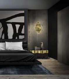 Master Bedroom Modern Nightstand Ideas from the Master Bedroom Collection Boca Do Lobo Sinuous Nightstand Luxury Bedroom Furniture Exclusive Design Bedroom Color Schemes, Bedroom Colors, Bedroom Decor, Bedroom Ideas, Entryway Decor, Bedroom Rugs, Bedroom Table, Bedroom Interiors, Bedroom Pictures