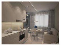how to decorate home Ikea Interior, Interior Design Kitchen, Diy Kitchen Lighting, Log Home Kitchens, Kitchen Decor Themes, Home Decor, Studio Kitchen, Luxury House Plans, Apartment Kitchen