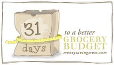 31 days to a better budget