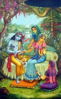 Beautiful colors. Krishna <3