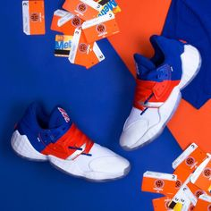adidas Honors James Hardens Game At MSG With Madison Square Harden Giveaway James Harden Shoes, Donovan Mitchell, Customise T Shirt, Dad Shoes, Madison Square, Custom Tees, Custom Sneakers, Adidas Stan Smith, Behind The Scenes