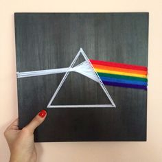 String Art Pink Floyd