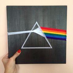 String Art Pink Floyd