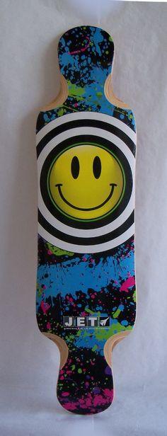 Shape Skate Longboard Jet Doppler 39,7 Maple 8 Folhas - R$ 307,00 no MercadoLivre