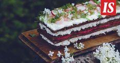 Tässä on voileipäkakku, jolla lumoat vieraat varmasti! Meals, Baking, Cake, Sweet, Desserts, Food, Celebration, Drinks, Candy