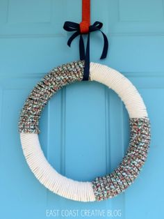 DIY Nautical Rope Wreath » Apartment Living Blog » ForRent.com : Apartment Living