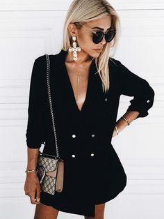 327e2242a3 Outfits en color negro para otoño – invierno 2017