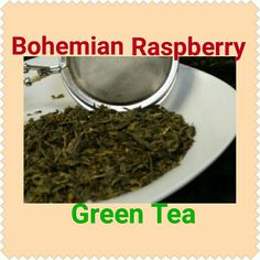 Our Daily Tea: Bohemian Raspberry Green Tea!!  Refreshing raspberry with a smooth green tea. Try in shop (5/18/16) order http://lifethymebotanicals.com/shop/tea/bohemian-raspberry-tea/ #bohemian #raspberry #greentea #sample #shopsmall