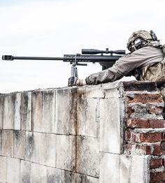 fnhfal: U.S. Marine Corps scout sniper