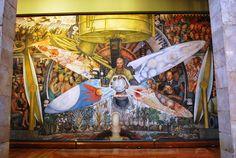 Palacio de Bellas Artes - Mural El Hombre in cruce de caminos Rivera 4 - Diego Rivera - Wikipedia, the free encyclopedia