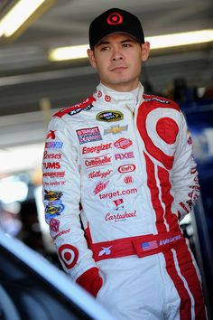 This kid is Kyle Larson. He is 22 years old, and he is one of NASCAR biggest up-and-coming starts. He is already in the Cup Series, and though he has not won yet, he will very very soon. This kid has some amazing talent. He is my second favorite driver and will definitely be my favorite when Dale Jr. (probably) retires in the next couple years.