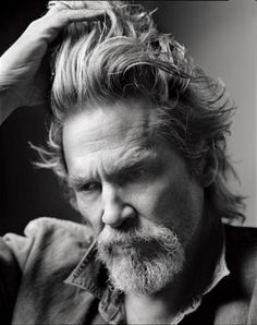 Week 2: Styles // goatee / jeff bridges / mark seliger // @The Art of Shaving