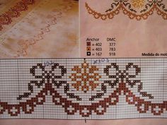 This Pin was discovered by Ayş Cross Stitch Letters, Cross Stitch Boards, Cross Stitch Rose, Cross Stitch Flowers, Counted Cross Stitch Patterns, Cross Stitch Designs, Cross Stitch Embroidery, Bargello, Loom Beading