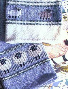 Sheep Towels (8-Shaft)