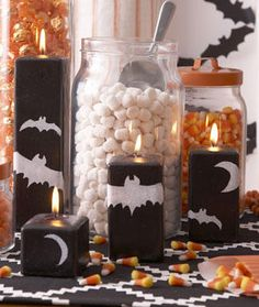Fun candles and jars!