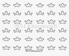 Kimsmom76: Cookie Jewelry Icing Transfers - Part 2