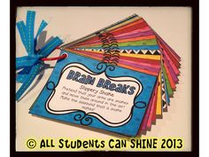 All Students Can Shine: Move & Groove - Brain Breaks For Your Classroom I have something similar.need to check this out and add to my other brain breaks Classroom Freebies, School Classroom, Classroom Activities, School Fun, Classroom Ideas, School Stuff, Future Classroom, School Items, Classroom Projects