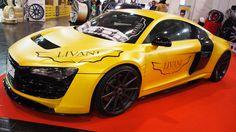Audi R8 Livani Exclusive Performance at Essen Motorshow - Exterior Walka...