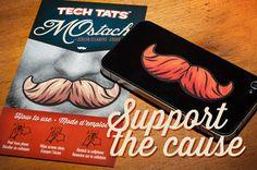MOstache Collection Tech Tats