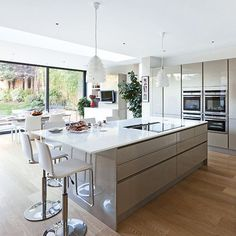 Knock down walls, build an extension or remodel the existing space - see our clever ways to make the space you need for your dream kitchen