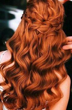 Curly Ginger Hair, Ginger Hair Color, Red Hair Color, Hair Colors, Copper Hair Colour, Color Castaño, Short Red Hair, Thin Hair, Natural Red Hair