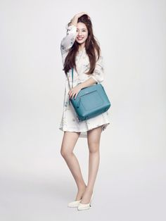 Peppy Suzy For Bean Pole Accessory's Spring Ad Campaign