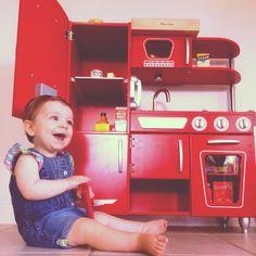 Red Vintage Kitchen Playkitchen Kidkraft Kidkraftkitchens